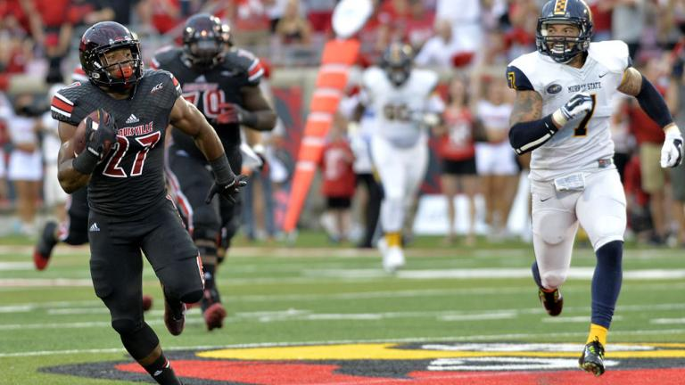 (25) Louisville 66, Murray State 21
