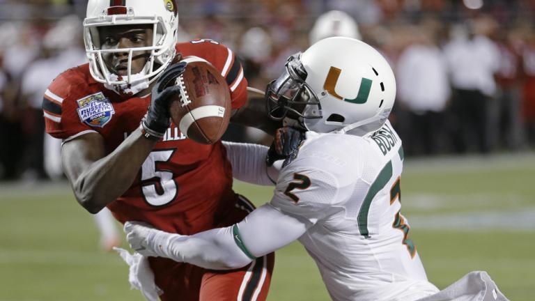Russell Atheletic Bowl: (18) Louisville 36, Miami 9