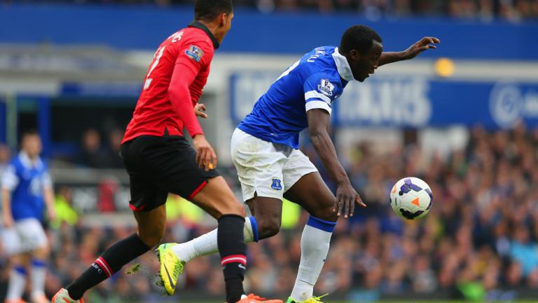 Everton 2, Manchester United 0