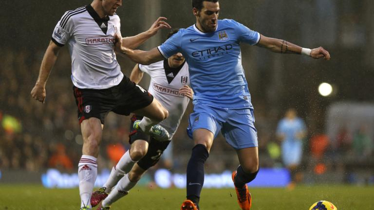 Manchester City 4, Fulham 2