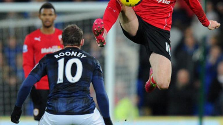 Cardiff City 2, Manchester United 2