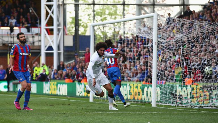 Manchester United 2, Crystal Palace 1