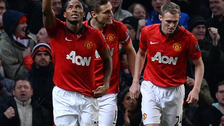 Manchester United 2, Swansea City 0