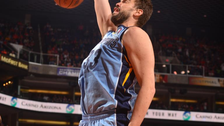 Marc Gasol, Center, Memphis Grizzlies