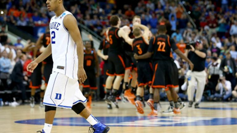 Second Round: (15) Mercer 78, (2) Duke 71