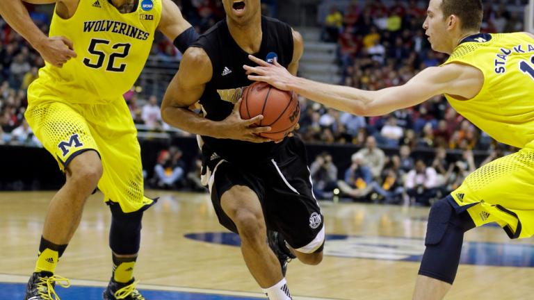 Second Round: (2) Michigan 57, (15) Wofford 40