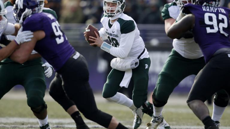 (13) Michigan St. 30, Northwestern 6