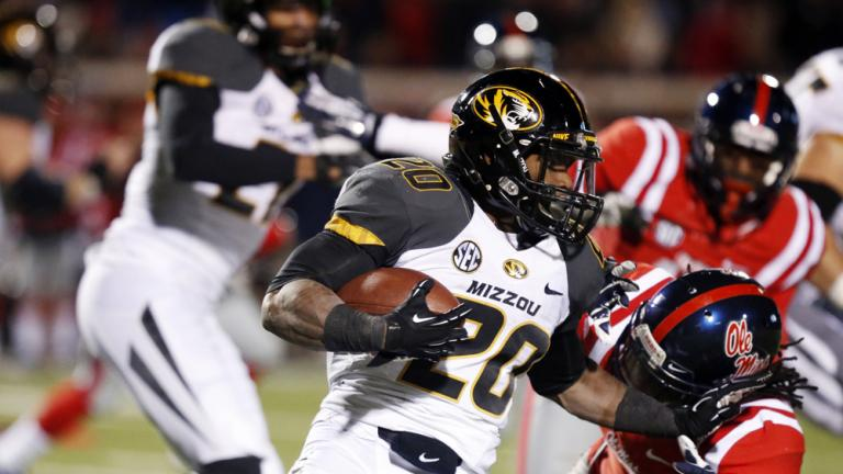 (8) Missouri 24, (24) Ole Miss 10