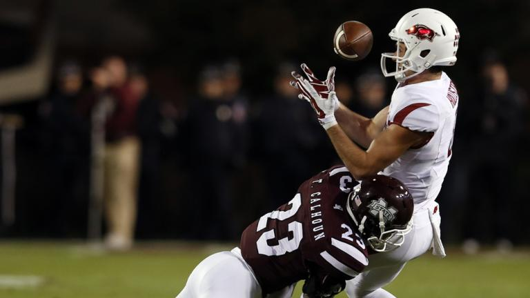 (1) Mississippi State 17, Arkansas 10
