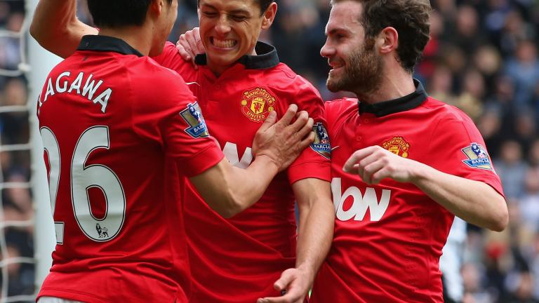 Manchester United 4, Newcastle 0