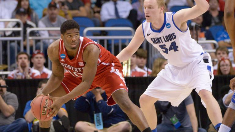 Second Round: (5) Saint Louis 83, (12) NC State 80