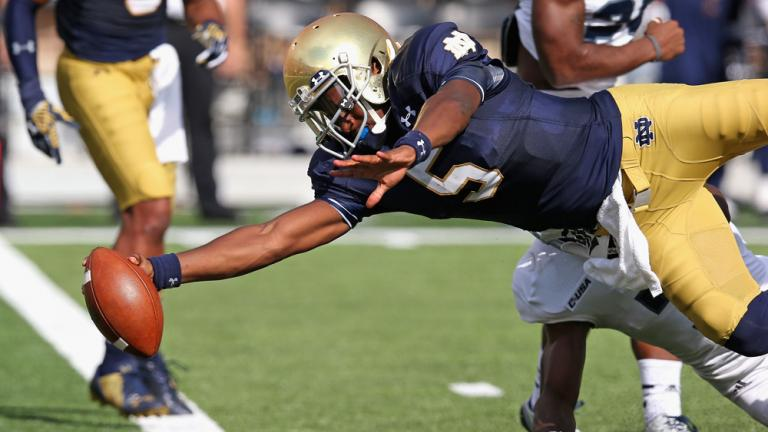 (17) Notre Dame 48, Rice 17