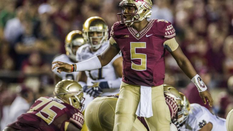 (2) Florida State 31, (5) Notre Dame 27