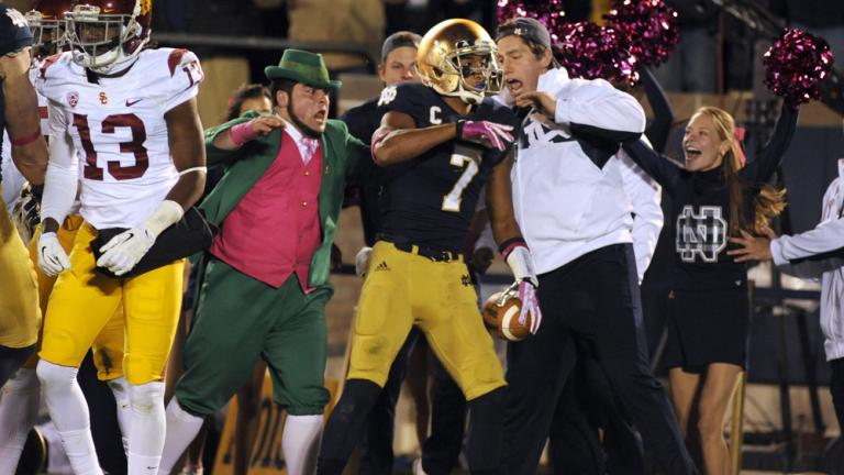 Notre Dame takes the lead