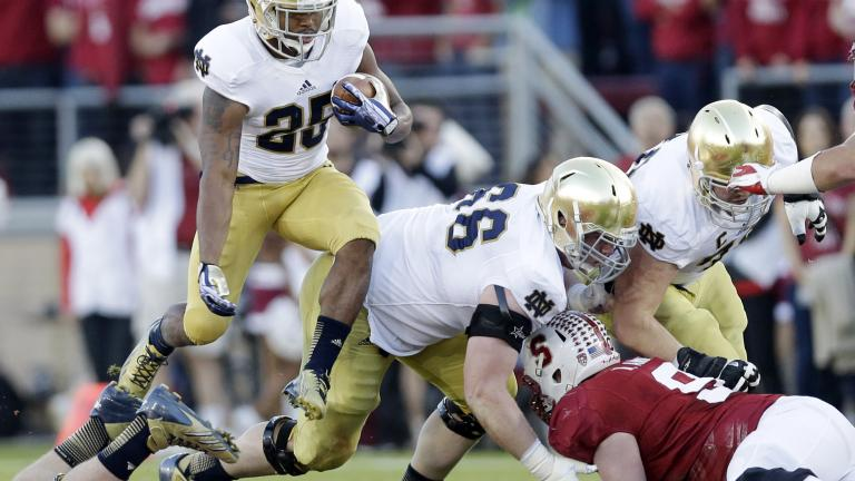 Stanford 27, Notre Dame 20