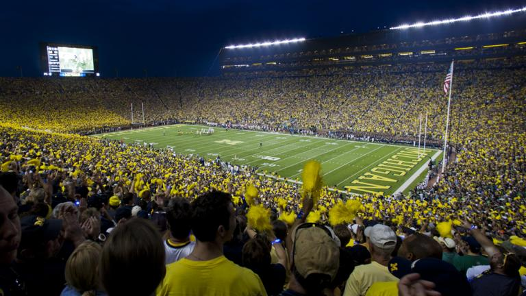 A big game at The Big House