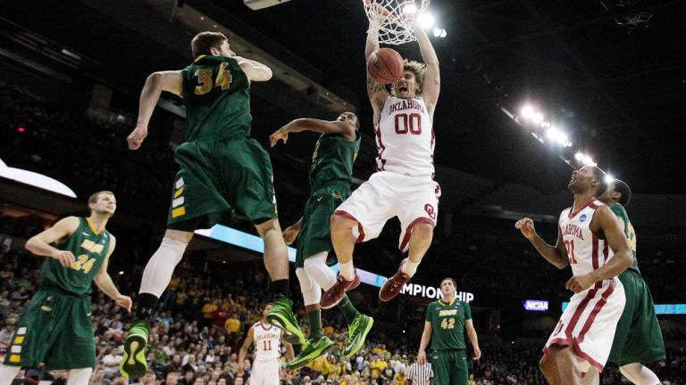Second Round: (12) North Dakota State 80, (5) Oklahoma 75