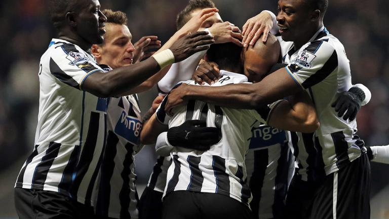 Newcastle 5, Stoke City 1
