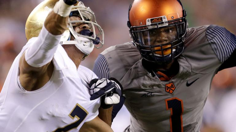 Notre Dame 31, Syracuse 15