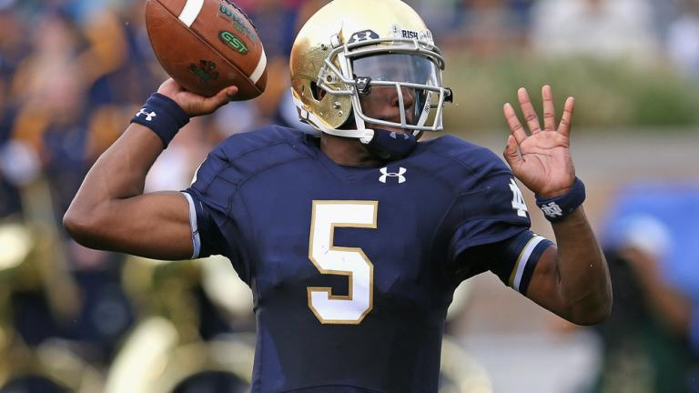 Notre Dame 48, Rice 17