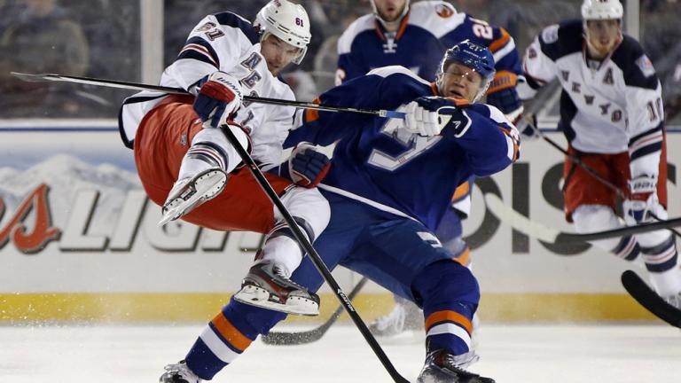 New York Rangers 2, New York Islanders 1