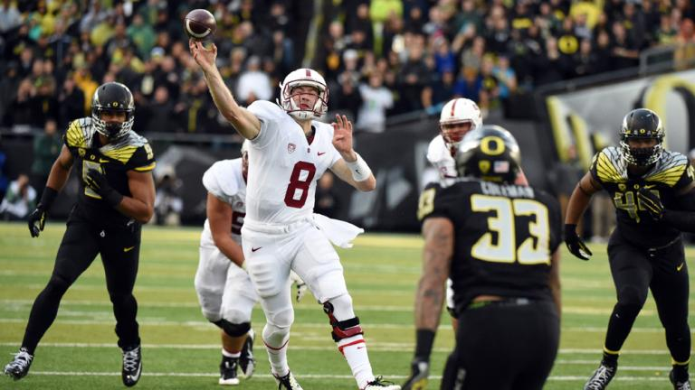 (5) Oregon 45, Stanford 16