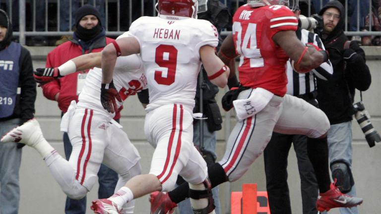 (4) Ohio St. 42, Indiana 14