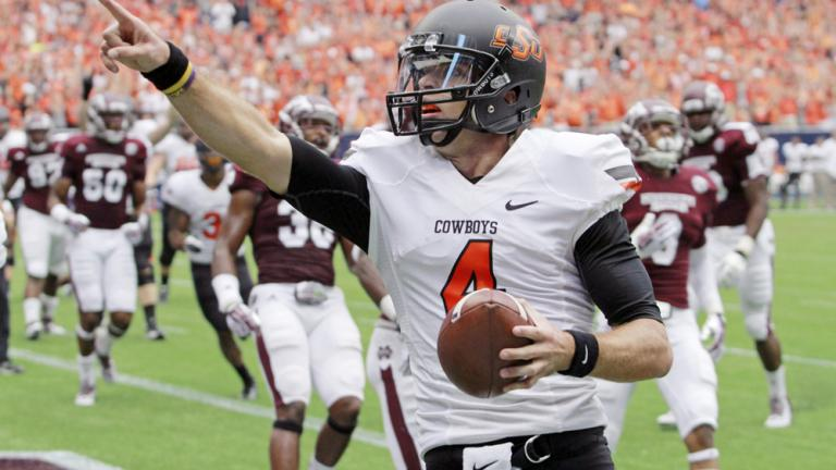 (13) Oklahoma State 21, Mississippi State 3