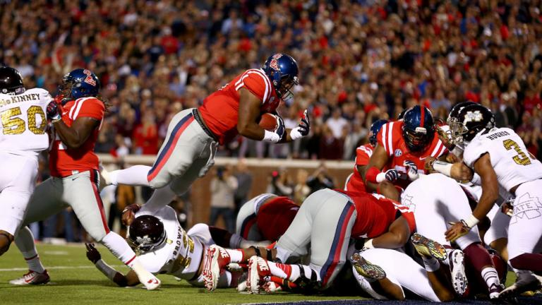 (19) Ole Miss 31, (4) Mississippi State 17
