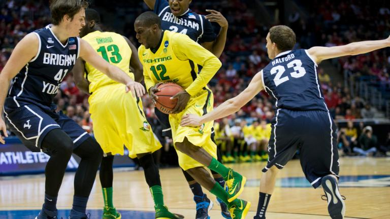 Second Round: (7) Oregon 87 (10) BYU 68
