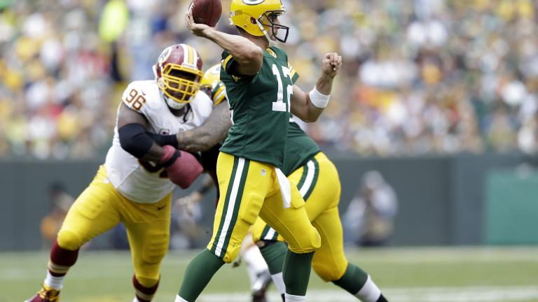 Packers 38, Redskins 20