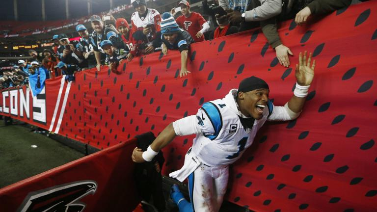 Panthers 34, Falcons 3