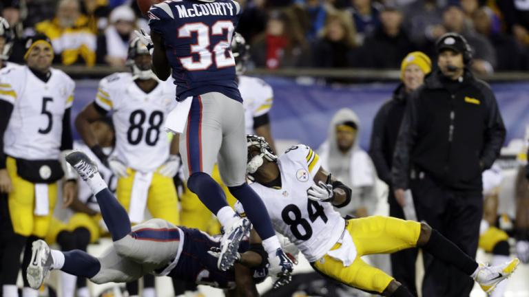 New England 55, Pittsburgh 31