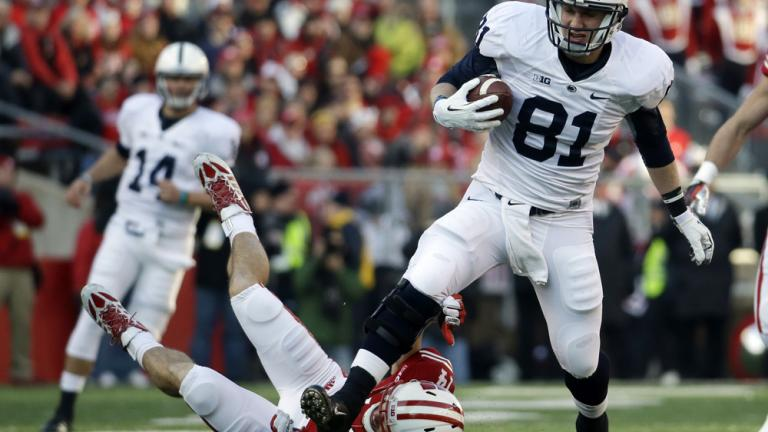 Penn State 31, (14) Wisconsin 24