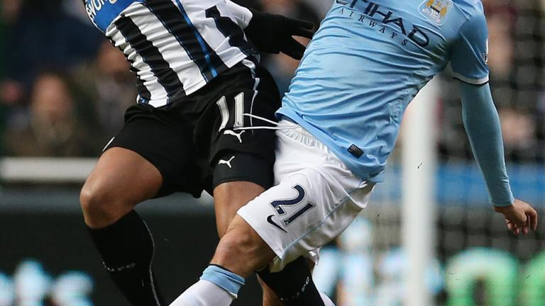 Manchester City 2, Newcastle 0