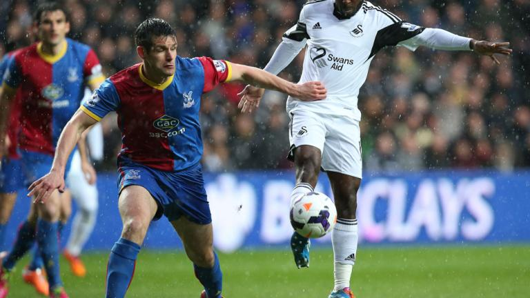 Swansea City 1, Crystal Palace 1