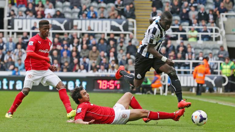 Newcastle 3, Cardiff City 0