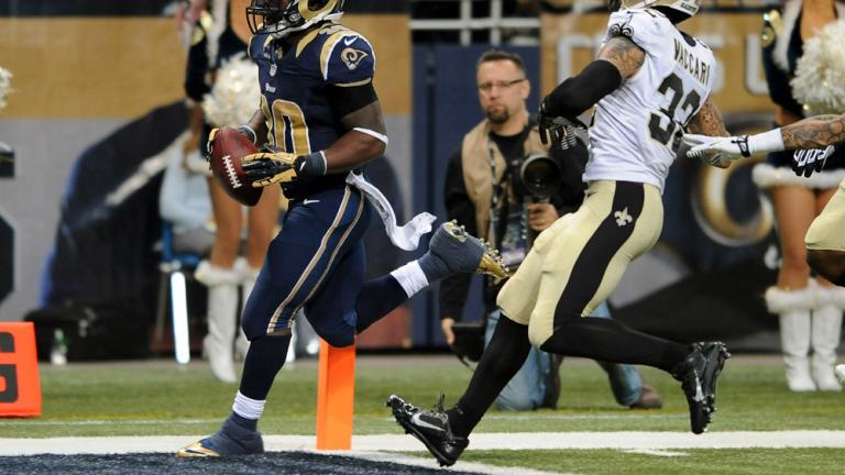 Rams 27, Saints 16