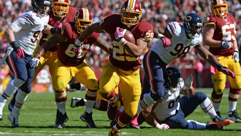 Redskins 45, Bears 41