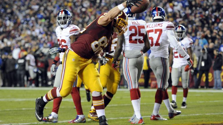 Giants 24, Redskins 17