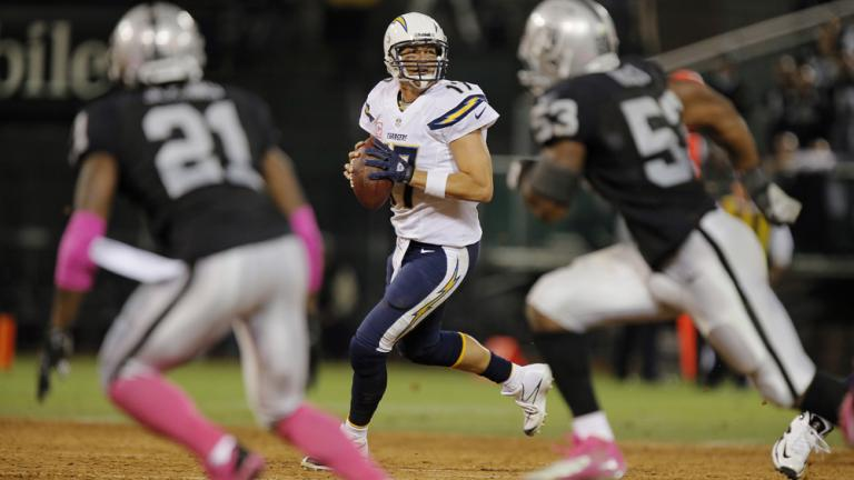 Raiders 27, Chargers 17
