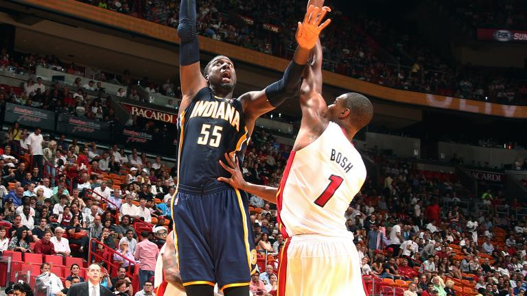 Roy Hibbert, Center, Indiana Pacers