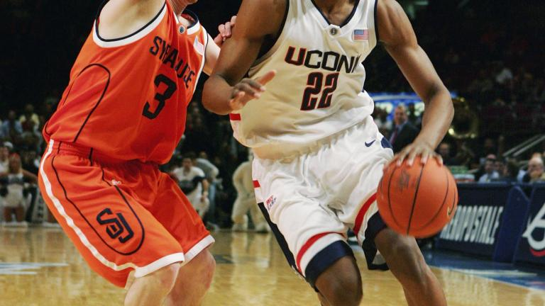 Rudy Gay, Connecticut Huskies, 2004-06