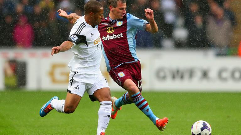 Swansea City 4, Aston Villa 1