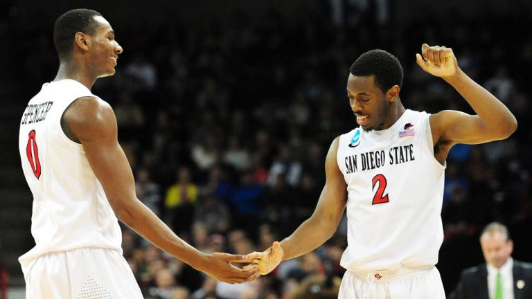 Third Round: (4) San Diego State 63, (12) North Dakota State 44