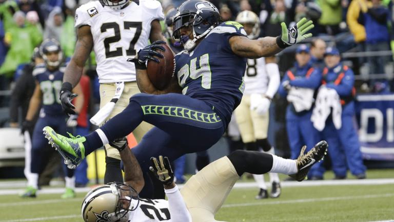 NFC divisional round game: Seahawks 23, Saints 15