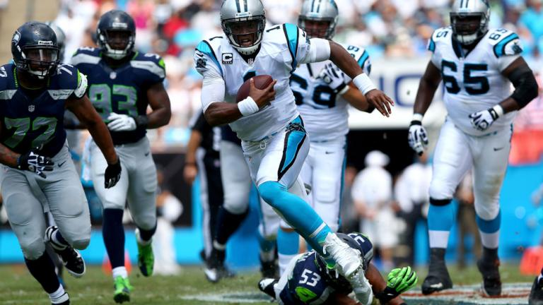 Seahawks 12, Panthers 7