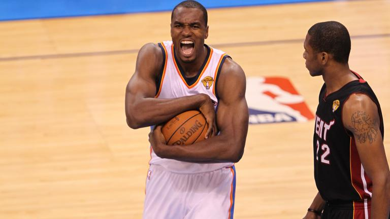 Serge Ibaka, Forward/Center, Oklahoma City Thunder