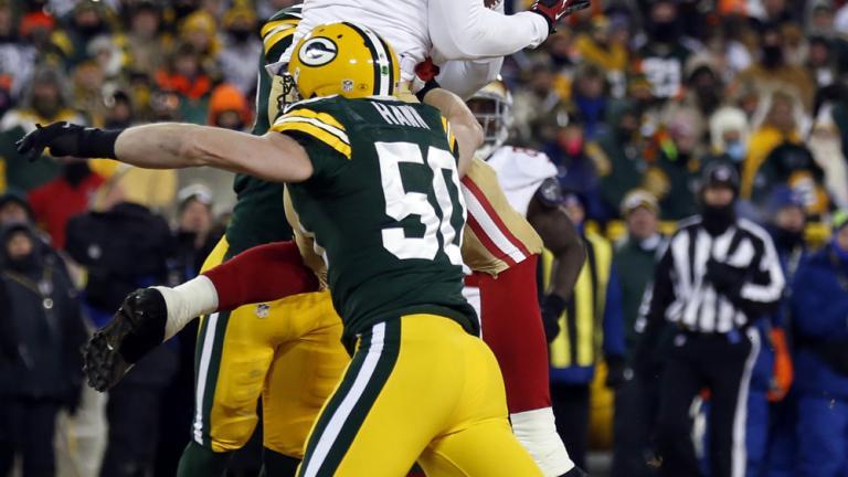 NFC Wild Card game: 49ers 23, Packers 20