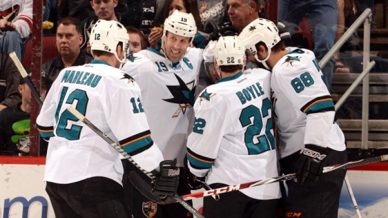 (2) San Jose Sharks: Pacific Division